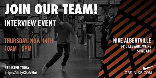 Nike Albertville Open House: Interviews