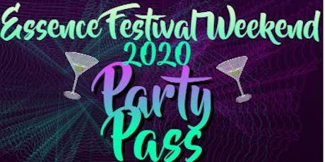 ESSENCE 2020 WEEKEND PARTY PASS tickets