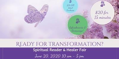 Spiritual Reader & Healer Fair - Are you ready for transformation?