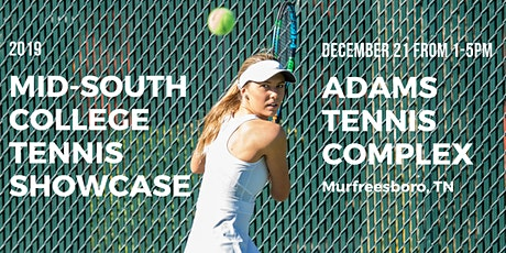 2019 Mid-South College Tennis Showcase tickets