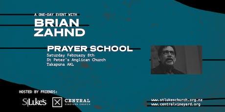 Brian Zahnd Prayer School tickets