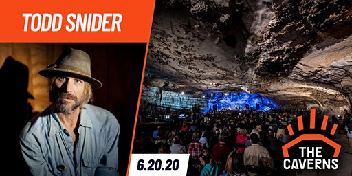 Todd Snider in The Caverns