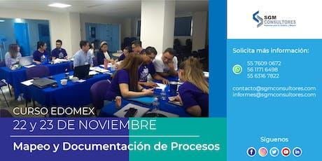 Mapeo y Documentación de Procesos - EDOMEX entradas
