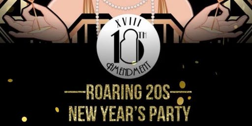Roaring Twenties New Years Eve Party at The `18th Amendment