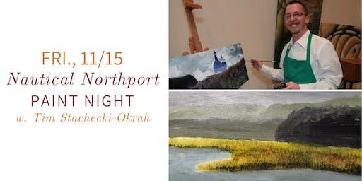 Northport Nautical Paint Night @ Nest on Main- Fri., 11/15