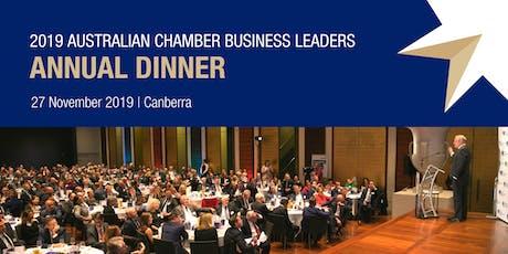 2019 Australian Chamber Business Leaders Annual Dinner - Non-member Ticket tickets