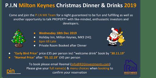 MK Property Investor Network - pin  - Christmas dinner social