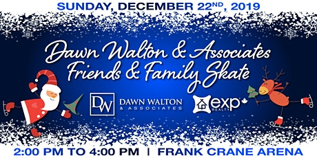 Dawn Walton & Associates Friends & Family Skate 2019 tickets