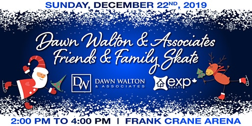 Dawn Walton & Associates Friends & Family Skate 2019