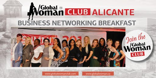 GLOBAL WOMAN CLUB ALICANTE: BUSINESS NETWORKING BREAKFAST - DECEMBER