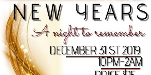 """NYE """"A Night to Remember"""""""