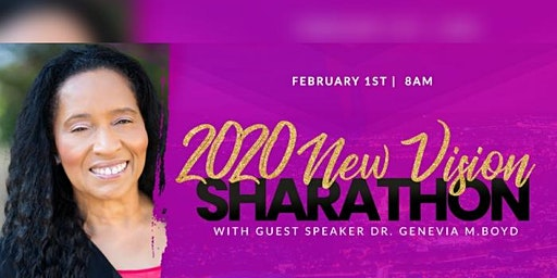 2020 New Vision Sharathon