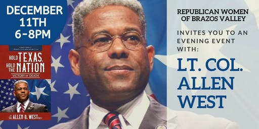 AN EVENING EVENT featuring Allen West