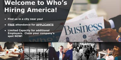 Who's Hiring America Dallas Career Fair