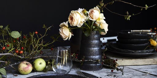 The Festive Table workshop at Oak and Monkey Puzzle, Daylesford region
