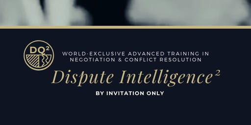 Negotiation & Conflict Executive-Level Training (2020)