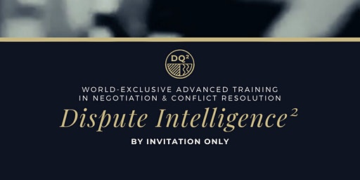 Negotiation & Conflict Executive-Level Training Pr