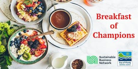 Breakfast of Champions - BOP tickets