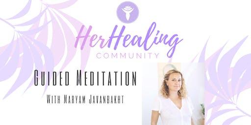 HerHealing Community: Guided Meditation with Maryam Javanbakht