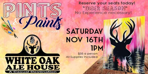 White Oak Ale House:Deer Season
