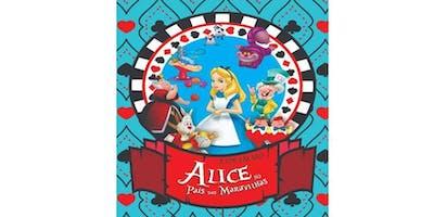 Espetáculo Alice no País das Maravilhas
