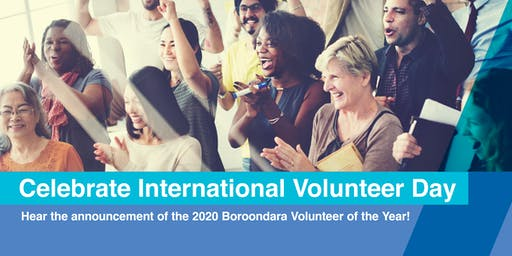 International Volunteer Day Celebration