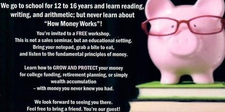 Money 101 - How Money Really Works - Woodbridge, VA tickets