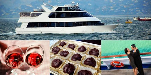 Chocolate & Wine CRUISE on San Francisco Bay: February 2020 Edition