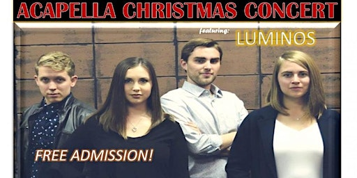 Acapella Christmas Concert: Free Admission