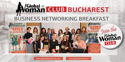 GLOBAL WOMAN CLUB BUCHAREST: BUSINESS NETWORKING BREAKFAST - JANUARY