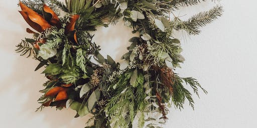 Mauloa Floral Design Wreath Workshop
