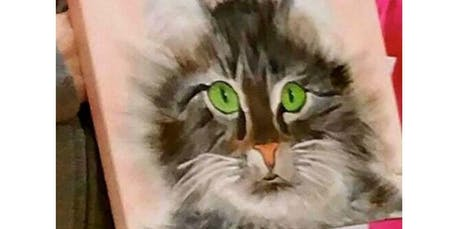 PAINT YOUR PET Sunday 12/15 -1PM (12-15-2019 starts at 1:00 PM) tickets
