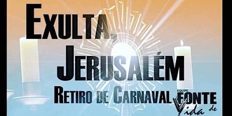 Retiro De Carnaval Fonte De Vida 2020 ingressos