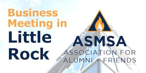 Association for Alumni and Friends of ASMSA - November Meeting