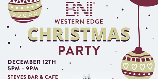 BNI Western Edge Christmas Party