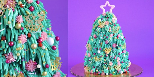 Funky Festive Tree Cake Workshop