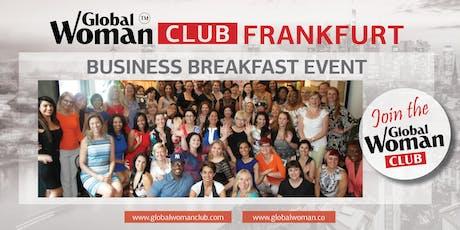 GLOBAL WOMAN CLUB FRANKFURT: BUSINESS NETWORKING BREAKFAST - JANUARY billets