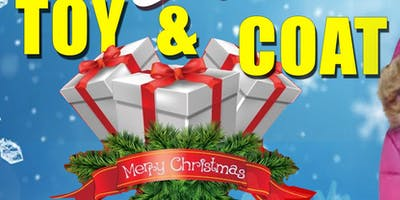 TIS THE SEASON TOY & COAT DRIVE - DONATE & HELP FAMILIES IN NEED!