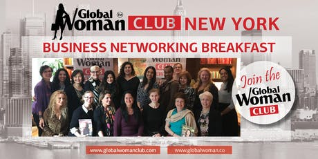 GLOBAL WOMAN CLUB NEW YORK: BUSINESS NETWORKING BREAKFAST - JANUARY tickets