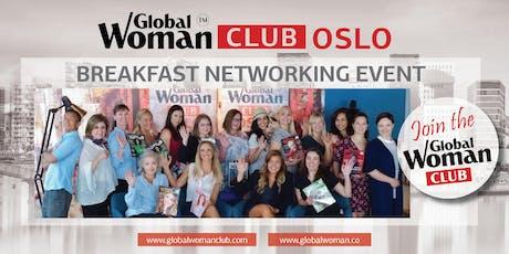 GLOBAL WOMAN CLUB OSLO: BUSINESS NETWORKING BREAKFAST - JANUARY tickets