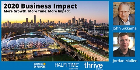 2020 Business Impact:  More Growth. More Impact. (Half The Hours) tickets
