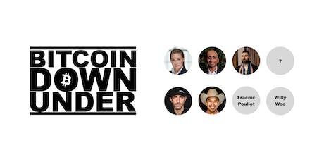 Bitcoin downunder tickets