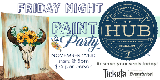 Paint Night at The Hub30A