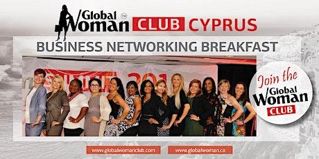 GLOBAL WOMAN CLUB CYPRUS: BUSINESS NETWORKING BREAKFAST - JANUARY tickets