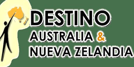 Boot Camp Destino Australia y Nueva Zelandia boletos
