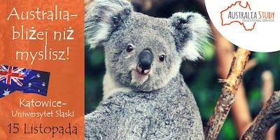 Australia: bliżej, niż myślisz! Wyjedź do Australii z UŚ w Katowicach