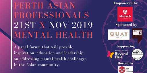 [SOLD OUT] Perth Asian Professionals x Mental Health