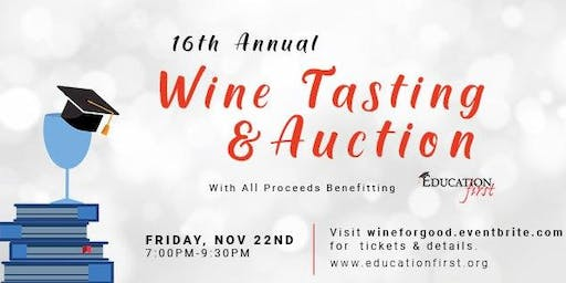 Seattle: 16th Annual Wine Tasting and Auction