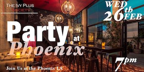 LA: Party at Phoenix tickets