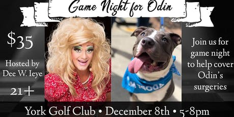 Adult Game Night for Odin tickets